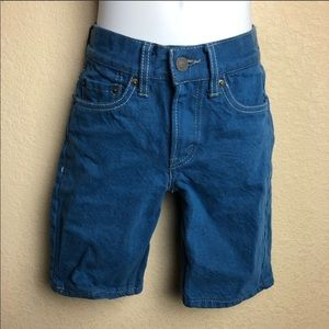 Levi's Boys Blue Denim Shorts size 8 Regular